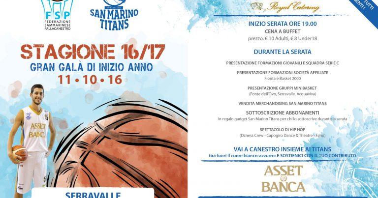 Fissata la data della prima Festa del Basket sammarinese